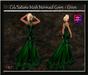 Cele'Sations Mermaid Mesh Gown ~ Green [ Maitreya Belleza TMP Eve Slink ]