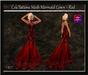 Cele'Sations Mermaid Gown ~ Red [ Maitreya Belleza TMP Eve Slink]