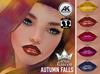 ::White Queen:: - Autumn Falls Lipstick  - Akeruka