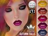 ::White Queen:: - Autumn Falls Lipstick  - Lelutka