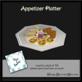 F&B Appetizer Platter