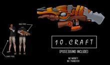 10.CRAFT - LASER GUN! 100% MESH!!!
