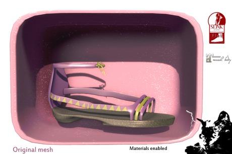 *PC* Aztec Sandals Purple PRE-RETIRING GIFT