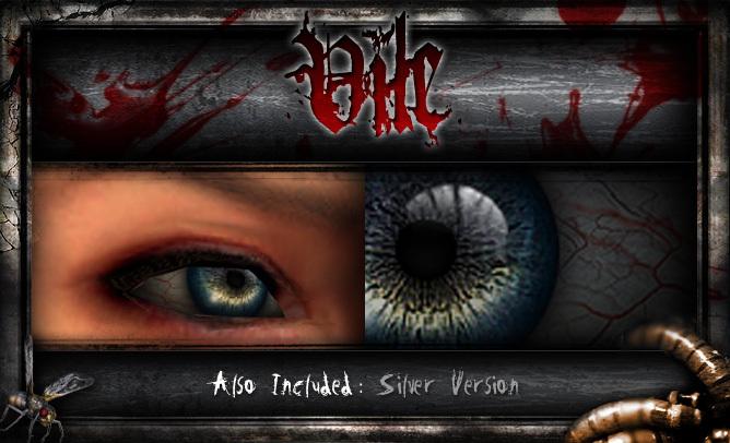 REPULSE - Vile Eyes (Vampire Eyes, Demon Eyes, Zombie Eyes, Lycan Eyes, Drow Eyes, Elf Eyes)