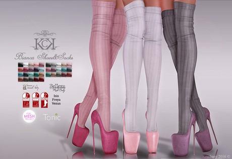 :::KC::: Bianca Shoes&Socks