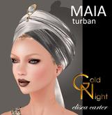 "Maia Turban Silver ""Elisea Carter"""