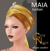 """Maia Turban gold """"Elisea Carter"""""""