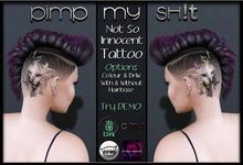PMS - Not So Innocent Tattoo
