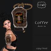 : Lewd : Coffee IV arm strap