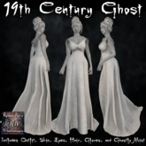 RR ~ 19th Century Lady Ghost ~ Complete Costume