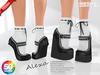 ::MA:: ALEXA Wedge/Tiptoe Sneakers - 50 COLORS PACK