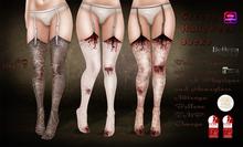 Creepy halloween socks by Mag<3.B