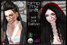 PMS - Wolf Scars - Tattoo