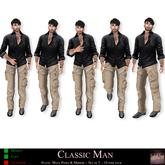 Lush Poses -: Classic Man - Mens Static poses