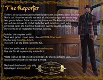 The Reporter - Brown - BOXED
