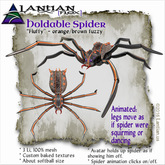 ~L/Fx~Holdable Fluffy the Spider (hold in hand) MCtbox
