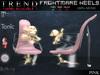 TREND - FRIGHTMARE HEELS - PINK - SLINK - BELLEZA - MAITREYA - TMP - TONIC