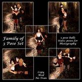 *MV* family of 3 pose set - all 5 poses