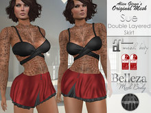 Sue Skirt RED