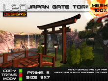 Asian, oriental, japanese Torii gate