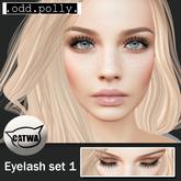 .odd.polly. Eyelash Set 1