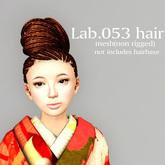 *booN Lab.053 hair black pack