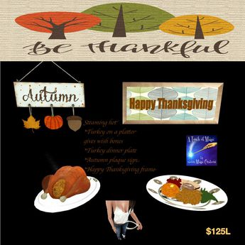 Turkey platter gives out wish bone and turkey dinner plate(crat