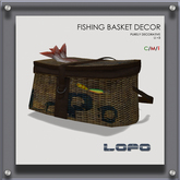 LoPo Fishing Basket Prop BOXED