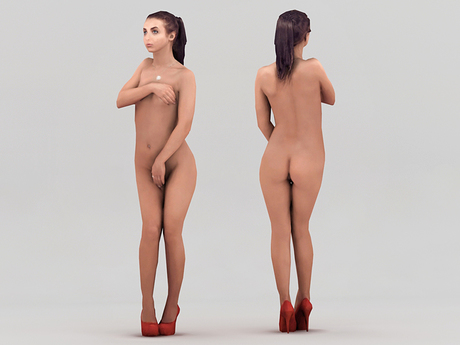 Second Life Nude