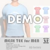 *AQF* Mesh Mens Panipani T-shirt DEMO