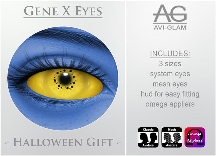 AG. Gene X Eyes (Halloween Gift)