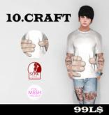 10.CRAFT - TITAN HAND T-SHIRT .