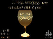 !.: CHARM:. wineglass animated drink#2