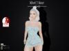 .::What2Wear::. Mesh Lace Mini  Dress - Blue
