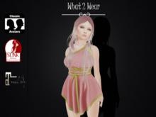 .::What2Wear::. Toga Dress Pink