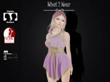 .::What2Wear::. Toga Dress Purple