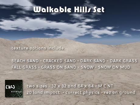 Mesh Hills - Walkable Sets