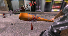 TWD Negan Baseball Bat (Lucille) [Scripted]