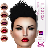 Oceane - Mistress Lip Gloss 5-pack 1 - Omega