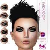 Oceane - Mistress Eyeshadow 5-pack 1 - Omega