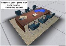 conference desks - boxed