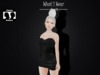 .::.What2Wear.::.Corset Dress Black