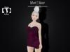 .::.What2Wear.::.Corset Dress Magenta/Black
