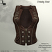 DE Designs - Trinity Vest - Rust