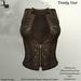 DE Designs - Trinity Vest - Tan