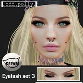 .odd.polly. Eyelash Set 3