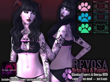REVOSA Neko Bra & Panties set [with Omega]