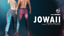{Uniwaii} - Jowaii (Jogger pants Male edition) Galaxy