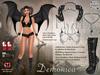 Maci ~ Demonica (for Maitreya Lara, Slink Physique & Hourglass)
