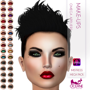 Oceane - Mistress Make-ups Mega Pack- Omega